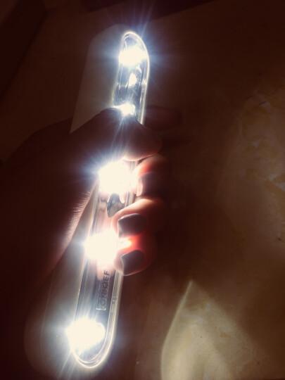 公创衣柜灯衣橱开关手压灯卫生间床头卧室壁橱柜创意节能led电池灯宿舍应急灯 白光2个含电池 晒单图