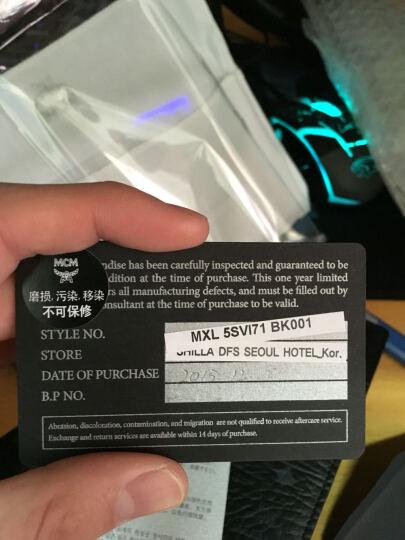 MCM VISETOS Logo印花 男士长款钱包 黑色 MXL7AVI70BK 晒单图