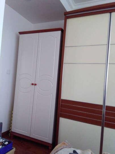 欧施洛 衣柜整体衣柜木质衣柜定制衣柜组装衣柜板式衣柜组合衣柜大衣柜两门衣柜OSL-382 晒单图