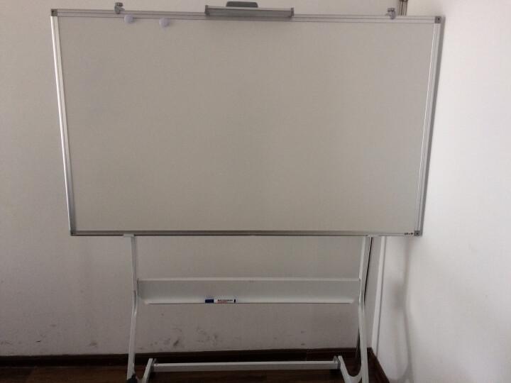 富尼白板办公珐琅搪瓷面板悬挂墙壁式哑光可投影挂式黑板写字板会议室家用学生培训班教学看板 悬挂式 120*200 晒单图