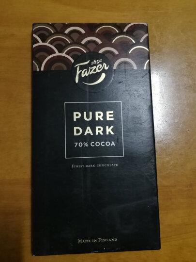 芬兰进口 菲泽(Fazer) 70% 经典黑巧克力京东海外直采 95g 晒单图