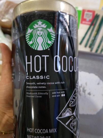 星巴克(Starbucks) 美国进口星巴克咖啡可研磨法式焙烘咖啡豆巧克力可可粉速溶咖啡 VIA速溶咖啡哥伦比亚口味26条 两盒 晒单图
