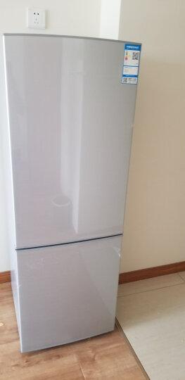 【二手99新】容声(Ronshen) 172升 静音低噪节能省电小型双门冰箱 拉丝银 186升  BCD-186D11D 晒单图