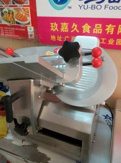 天地人 10寸全自动羊肉切片机 刨肉机 羊肉切片机涮羊肉刨肉机刨片机 SS-A2000 切羊肉片机 晒单图