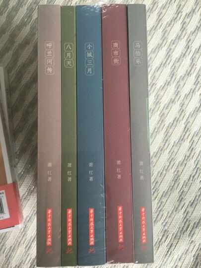 萧红全集(套装全5册)(呼兰河传+商市街+小城三月+马伯乐+八月天) 晒单图