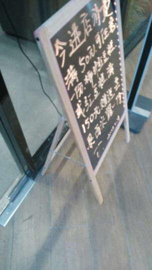 Glo-Loons荧光板53X100免支架一体式发光手写字板立式led黑板荧光屏电子广告板 荧光板+粗笔+巨粗笔+移动电源+配件套装 晒单图