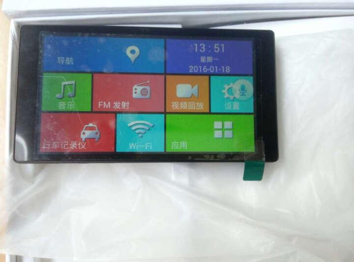 丁威特中控台4G语音行车记录仪双镜头GPS导航带电子狗一体机高清1080P广角 倒车影像 送32G卡+方控+安装+4G蓝牙+声控导航 晒单图