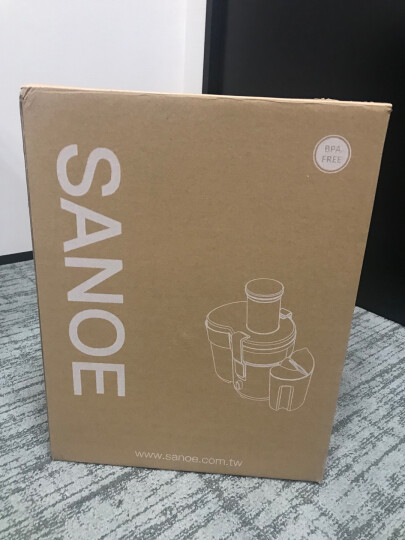 思乐谊(SANOE) J501商用榨汁机 离心大功率快速 大口径 多汁 多功能电动 家用 冰川银 晒单图