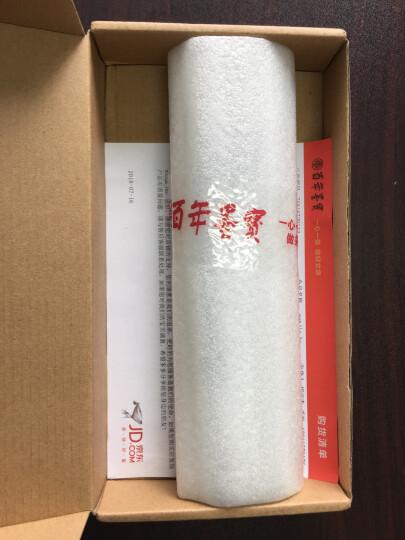 【进口墨笔】日本吴竹进口抄经小楷毛笔 科学灌水便携墨笔自来水笔 写经自来水笔签字笔 黑色墨胆补充液 晒单图