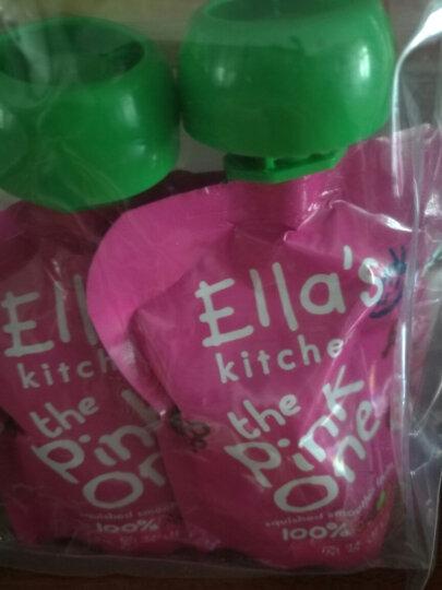 艾拉厨房(Ella's kitchen) 梨果泥 70g*2袋 (新老包装随机发货) 晒单图