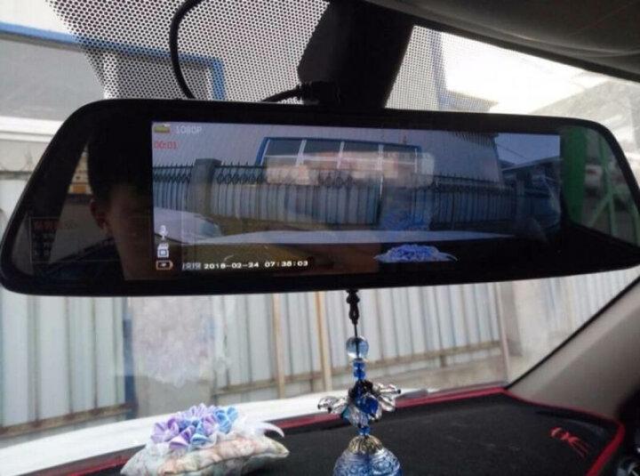 凌度 智能行车记录仪高清夜视双镜头前后录像倒车影像一体机 导航仪带电子狗后视云镜 8英寸按键版+前后双录倒车影像+32G(套餐一) 晒单图