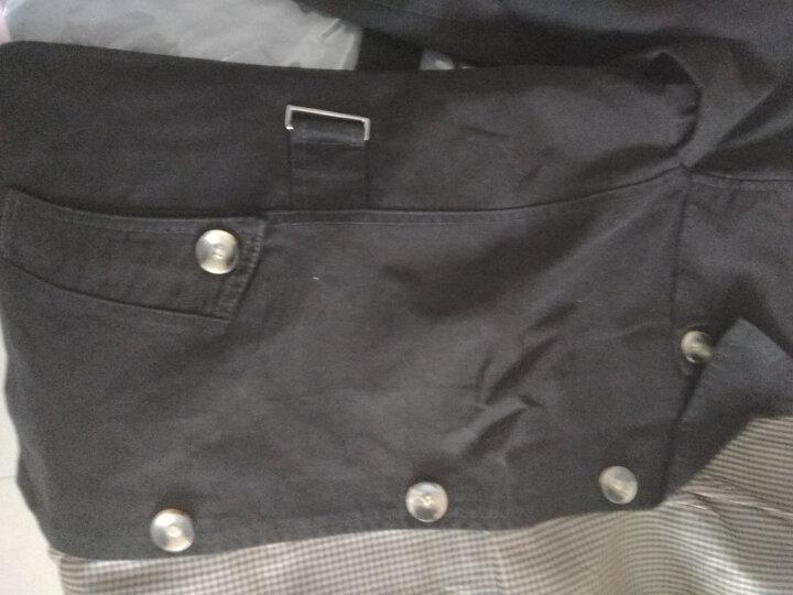 稻草人(MEXICAN)夹克男2018薄款秋冬装新款风衣男大码外套男 薄款 黑色 XL 晒单图