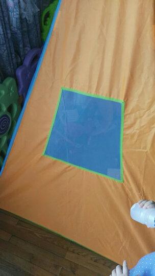 费雪fisher-price 儿童围栏帐篷 室内外宝宝玩具游戏屋 海洋球池 欢乐游戏屋 送40海洋球 晒单图