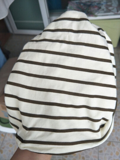 妈妈果 月子帽产妇帽子产后春夏季薄款透气时尚孕妇帽子夏天坐月子用品春秋 彩棉小象套头 晒单图