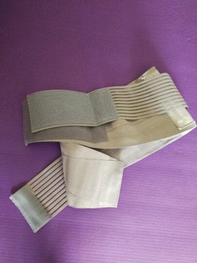 曼迪卡威护腰带 腰间盘突出运动腰托8根支撑条 男健身护腰 灰色 L/XL 适合腰围85cm以上 晒单图