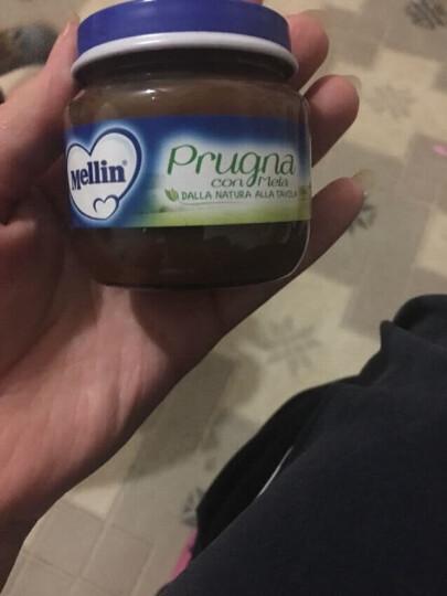 意大利进口 美林(Mellin)水果泥肉泥婴儿辅食宝宝零食蔬菜泥西梅泥 香蕉奇异果泥*2罐装 晒单图