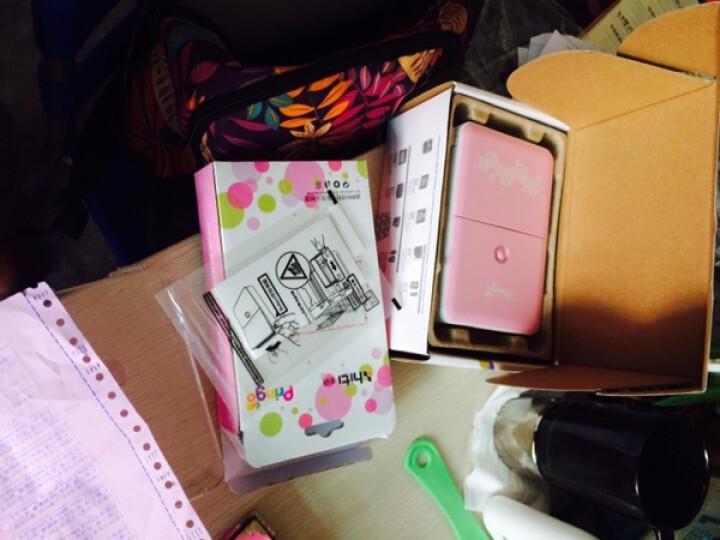 呈妍(Hiti) Pringo P231升级版P232手机照片打印机 便携式口袋相片打印机 粉色p232皮套 晒单图