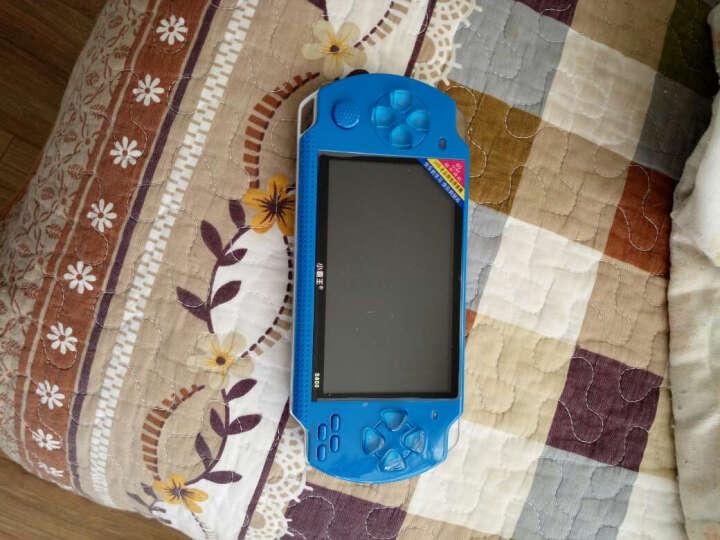 小霸王儿童玩具掌上psp游戏机S800彩屏GBA掌机电玩怀旧经典街机学习机 蓝色 晒单图