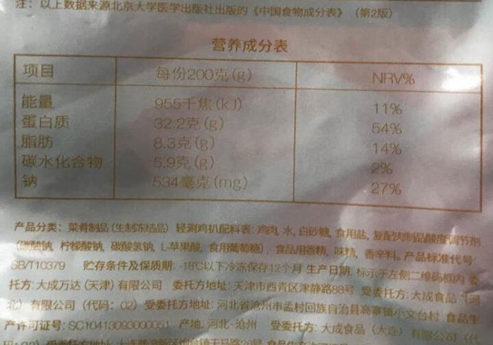 大成better me 火锅鸡肉片 轻涮鸡扒锅物共享600g 火锅食材 鸡胸肉切片 涮火锅  健身减脂 晒单图