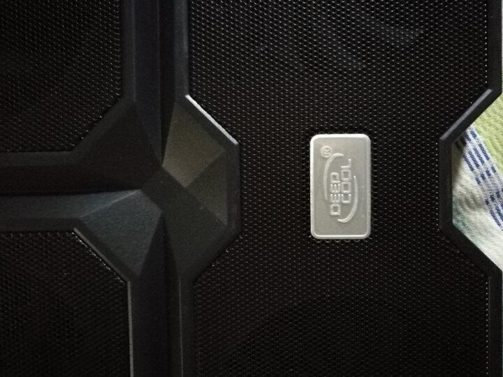 九州风神(DEEPCOOL)X6 笔记本散热器 (电脑配件/笔记本支架/散热架/散热垫/适用于15.6英寸) 晒单图