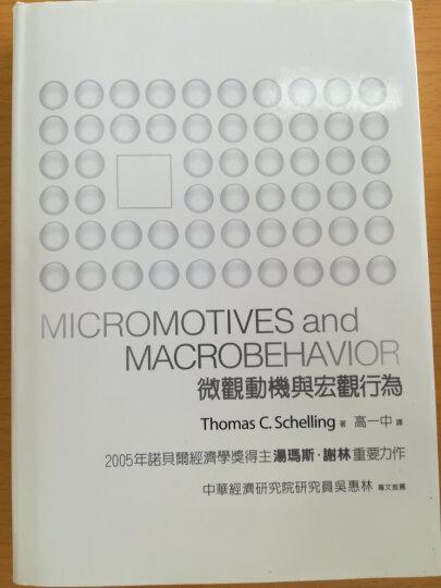 微觀動機與宏觀行為 晒单图