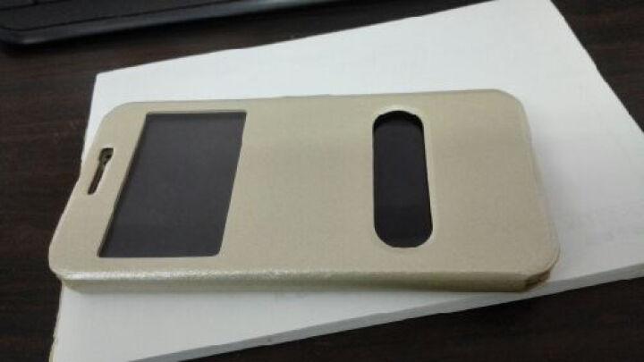 艾动力 手机蚕丝皮套保护壳手机套 适用于三星Galaxy A7/a7000/a7100 2015款A7-土豪金-A7000 晒单图