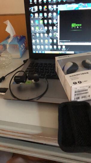 索尼(SONY) NW-WS414 MP3播放器迷你运动跑步游泳耳机防水随身听 黑色 晒单图