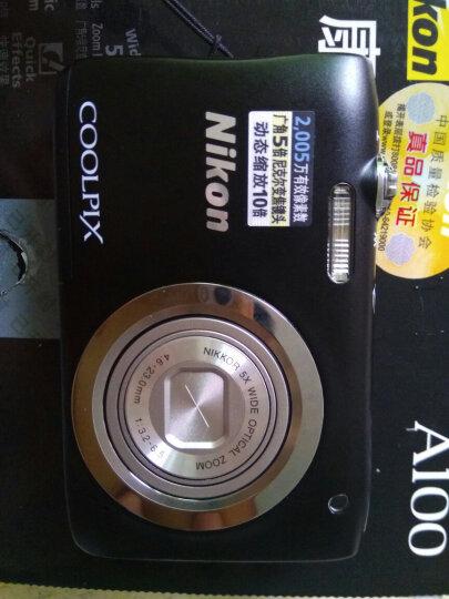 尼康(NIKON) Coolpix A100 轻便携型数码相机/卡片相机 银色 套餐二(32g卡+相机包+清洁套+读卡器) 晒单图