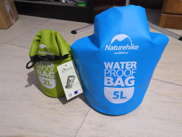 挪客Naturehike 户外运动 收纳用品手机衣物品防水游泳包漂流袋 2L 天蓝色 晒单图