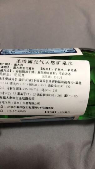 圣培露(S.PELLECRINO)含气天然矿泉水 意大利气泡水 苏打水 饮用水250ml*24瓶整箱 晒单图