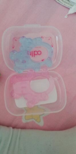 爱乐宝 婴儿牙胶 硅胶磨牙棒 宝宝安抚奶嘴玩具 儿童咬咬胶水果乐 阶段二【蓝色星型】 晒单图