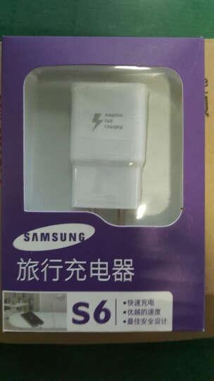三星(SAMSUNG)S6原装旅行快充 S6 edge+快速充电器/数据线 安卓手机通用 S6快速充电头+数据线 晒单图
