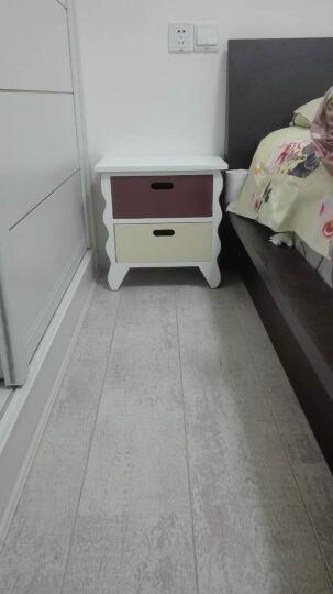 妙意轩 实木床头柜 小收纳储物柜斗柜 简约时尚储物柜 大号B款 晒单图