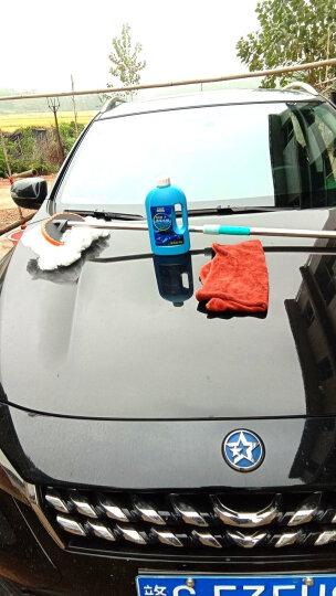 繁普 汽车洗车刷子 长杆牛奶丝洗车拖把 长杆汽车掸子 汽车用品洗车配件 长杆刷 拖把+洗车液+毛巾 晒单图