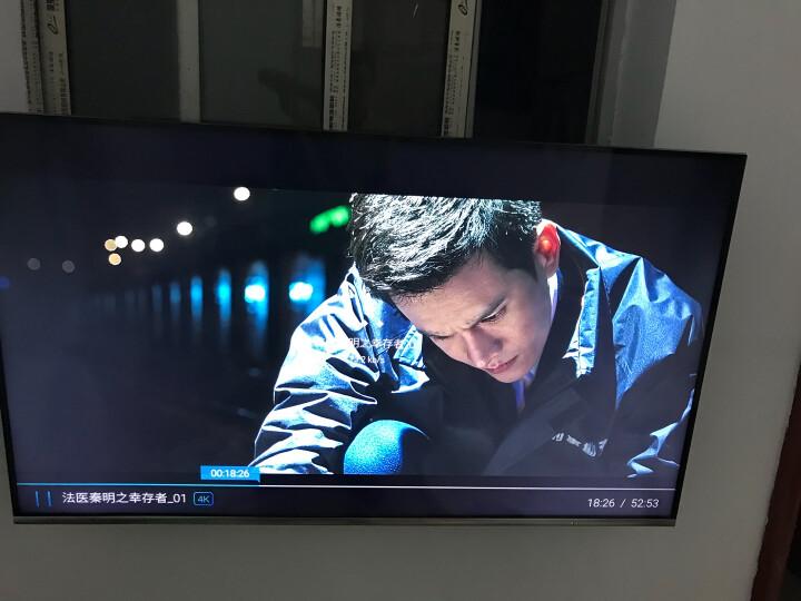创维(Skyworth)58H7 58英寸超薄全面屏人工智能HDR 4K超高清智能网络液晶电视机(银色) 晒单图
