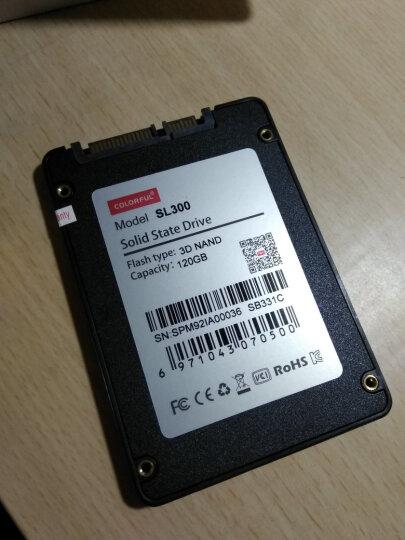 七彩虹(Colorful) SATA3固态硬盘SSD 60G/120G台式机 笔记本硬盘 SL300 160G 晒单图
