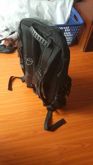 vanwalk 大容量可扩容休闲旅行包行李袋背包双肩包男旅游包学生书包健身包运动包笔记本包 军绿色扩容 晒单图