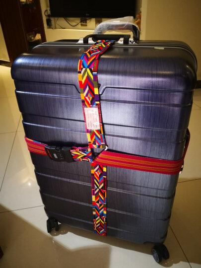 必优美 BUBM TLB 拉杆箱十字捆绑带密码锁托运行李箱打包带 彩色 晒单图