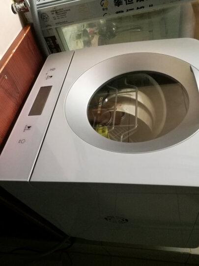 OZNER浩泽洗碗机家用全自动台式 WiFi智控除菌独立式迷你小型免安装T6 清新蓝T3-送货入户包安装 晒单图