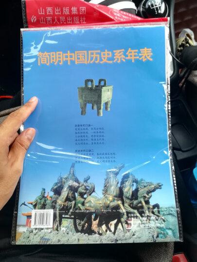 简明中国历史系年表 晒单图