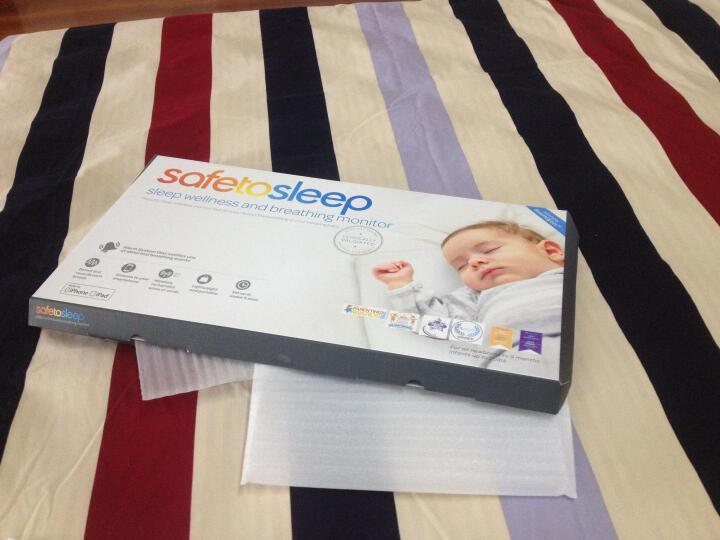 安宝睡智能婴儿床垫 婴儿监护器 胎心仪家用后奶爸奶妈新生儿用品 拓展床垫(STS100) 晒单图