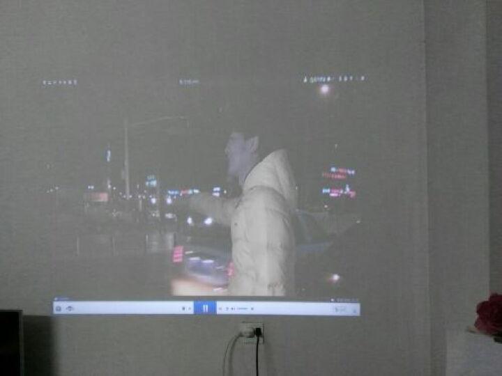 轰天炮投影仪LED-86+ 智能家庭影院  办公投影仪家用   高清投影机 白色86智能wifi版套餐二 晒单图