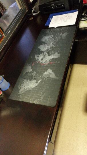 金挚 【买三减一】 游戏卡通鼠标垫 守望先锋大号键盘垫动漫办公桌面垫超大加厚LOL鼠标垫 世界地图90*40CM锁边 晒单图