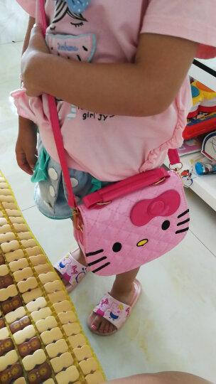 EFILIYO儿童包包公主时尚包小女孩女童单肩斜挎包手提包美爆宝宝少女迷你可爱卡通包韩潮 粉红猫咪 晒单图