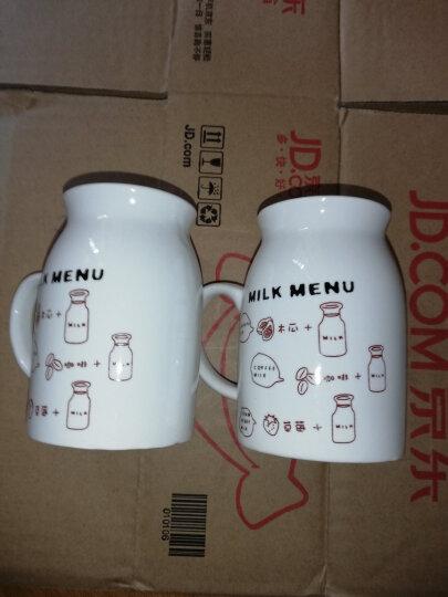 贝瑟斯 创意陶瓷马克杯 奶牛早餐杯牛奶杯水杯 BSS131 晒单图