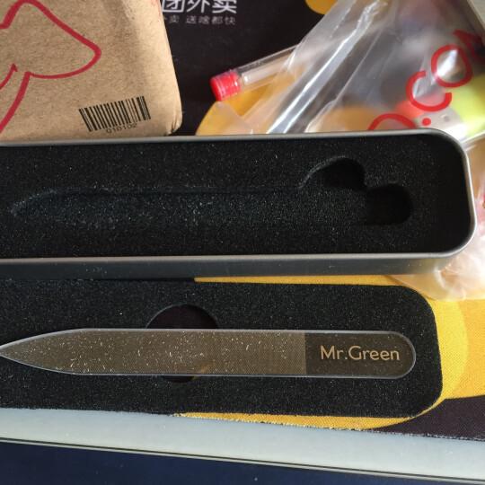匠の技(Mr.Green)M-2162 玻璃指甲锉 水晶抛光打蜡搓条修甲亮指甲美甲工具 晒单图
