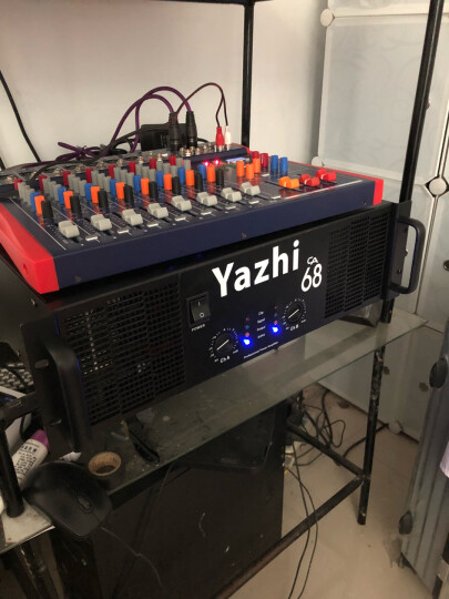Yazhi S78专业8路调音台舞台演出会议音响蓝牙USB混响调音器均衡婚庆直播 晒单图