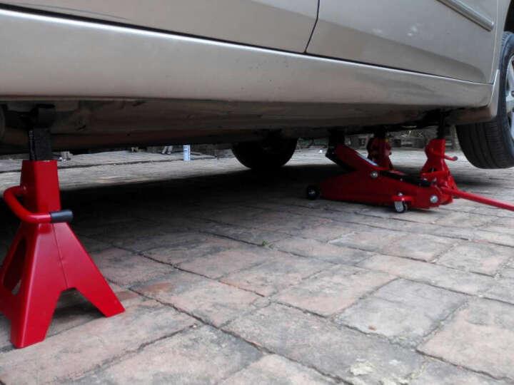 通润(TORIN)安全支架2吨 汽车维修支架千斤顶支架保安支架 汽修工具 一对装 2T 晒单图
