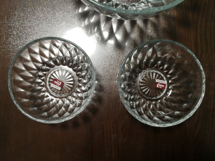 青苹果玻璃碗果盘沙拉碗6件套W7030/L6 晒单图