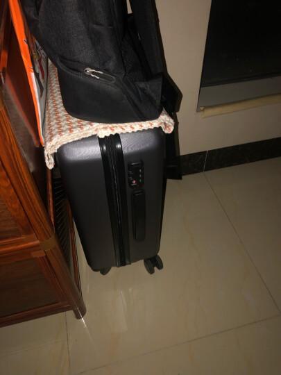 小米(MI)90分旅行箱拉杆箱 男女万向轮登机行李箱 20英寸 星空灰 晒单图
